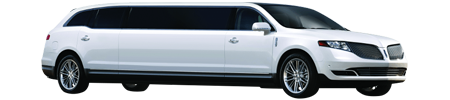 Lincoln MKT Stretch - White