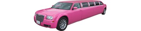 Chrysler 300 Stretch - Pink