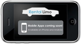 Rental Limo Mobile apps coming soon