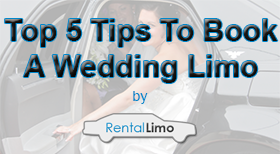 Top 5 tips to book a wedding limousine